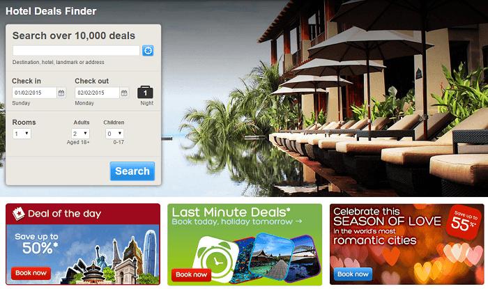 NG Hotels.com hot deals
