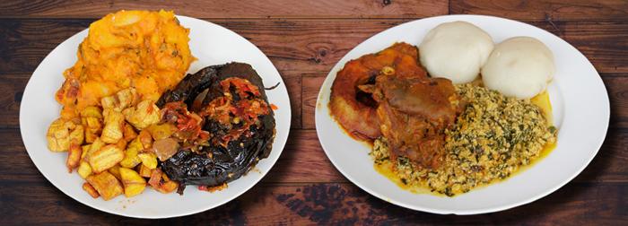Nigeria Jumia Food Two Dishes