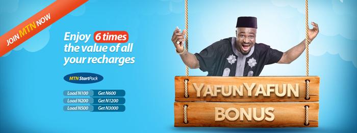 Nigeria MTN Online YafunYafunb Bonus