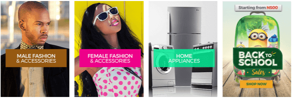 Payporte homepage offers