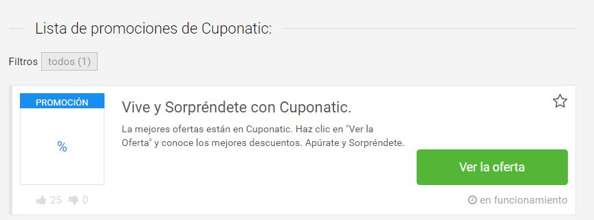 cupones Cuponatic