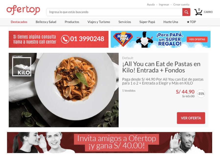 ofertas ofertop