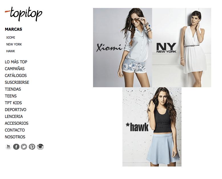 ofertas topitop