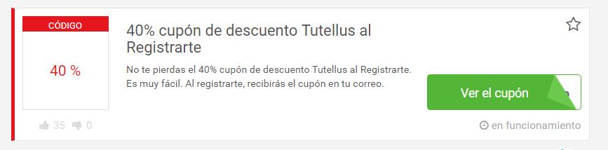 cupón tutellus