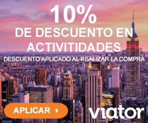 10% Descuento Viator