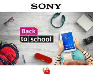 Sony Regreso a Clases