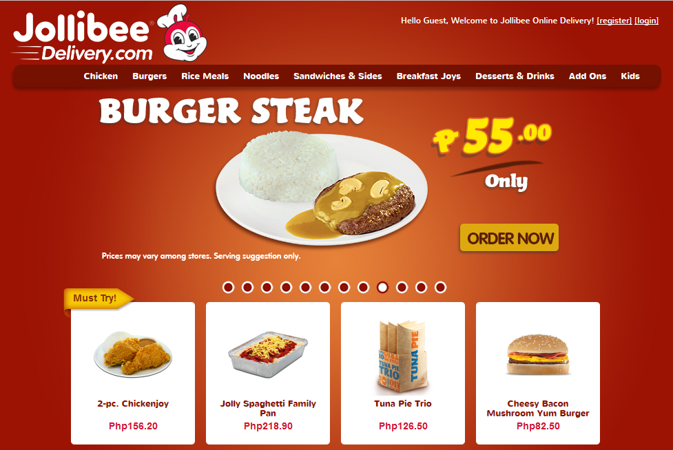 jollibee burgers Jollibee foods corporation currently operates and franchises a network of over 3,000 restaurants worldwide under the trade names jollibee, chowking, greenwich, red ribbon, yonghe king, hong zhuang yuan, mang inasal.