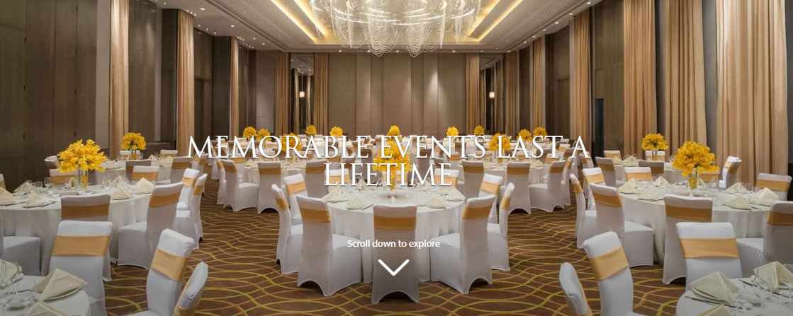 Event venues at Marco Polo Hotels