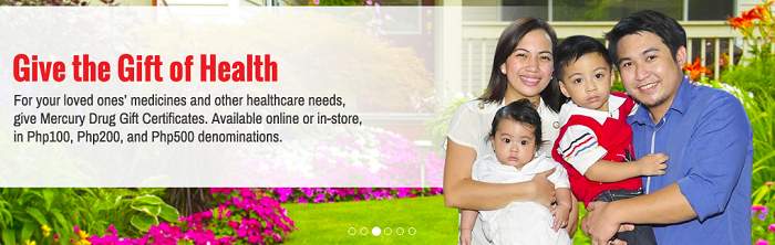 Health services at Mercury Drug
