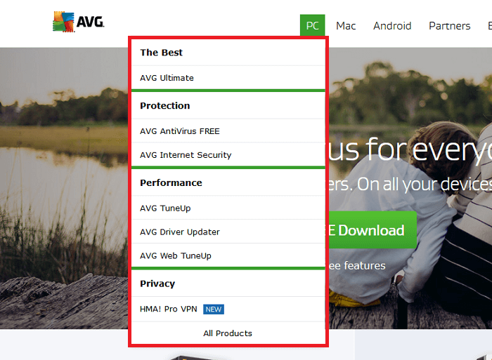 Shop at AVG!