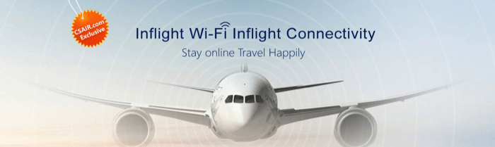 Free In-Flight Wi-Fi Connectivity