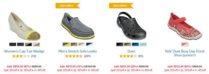 Sale at Crocs