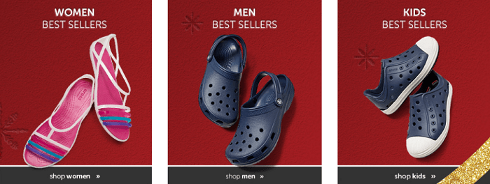 Shoes at Crocs