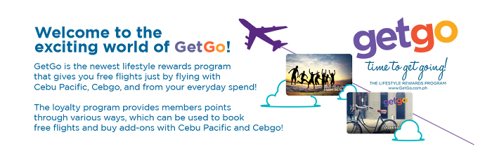 how to use getgo points in cebu pacific