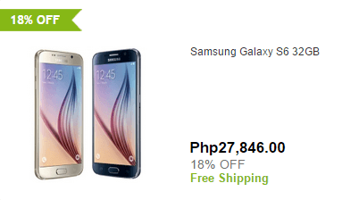 Smartphone discount at eBay