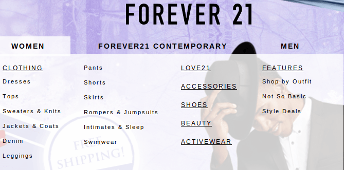 FOREVER 21 is a registered trademark, service mark, and/or trade name of Forever 21, Inc. All other trademarks, service marks, and trade names contained in the Site are the properties of the respective owners. FOREVER 21 disclaims any proprietary interest in trademarks, service marks and trade names other than its own.