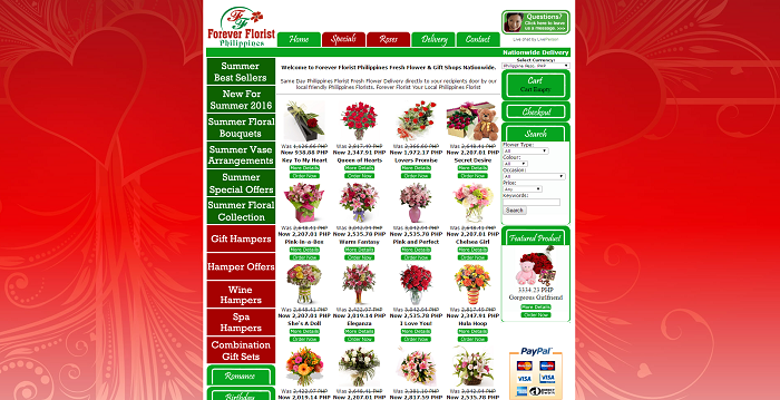 Get the best offers at Forever Florist