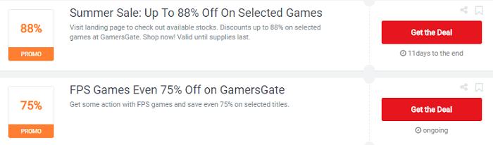 Picodi deals for Gamers Gate