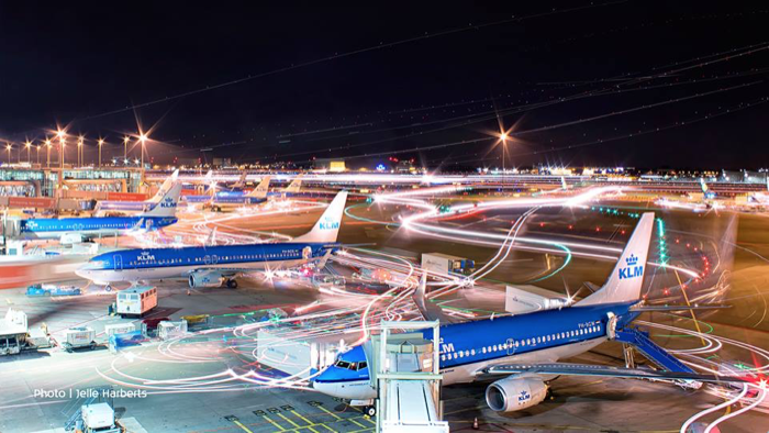 Fleet at the airport