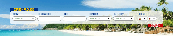 Travel packages at Philippine Airlines