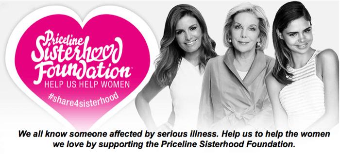 Priceline Sisterhood Charity
