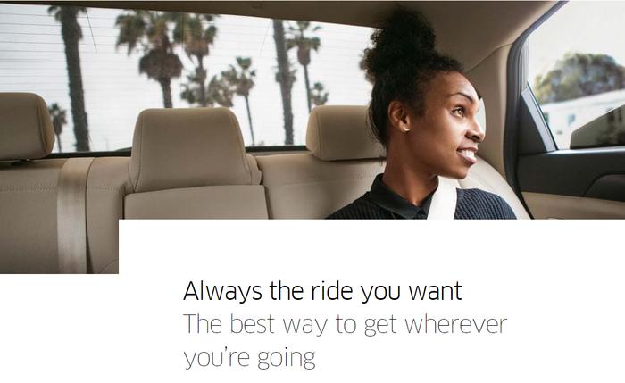 Try Uber!