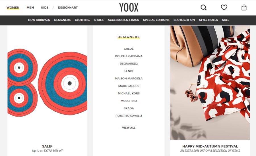 Visit YOOX!