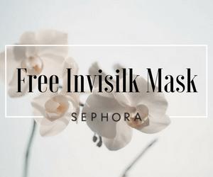 Promo Code: Free Invisilk Mask