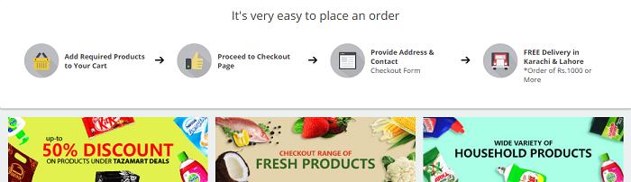 PK TazaMart online order