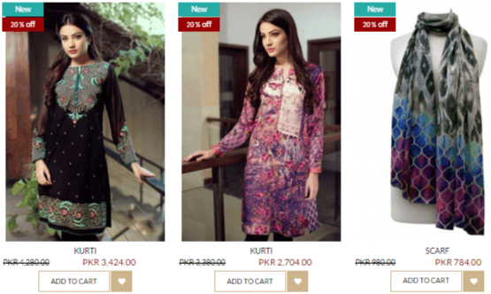 More discounted Bonanza products available