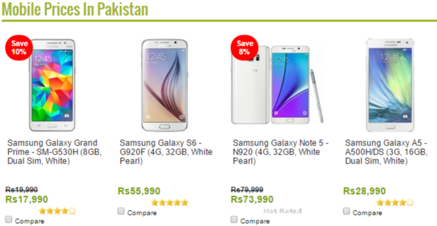 Homeshopping mobile offers