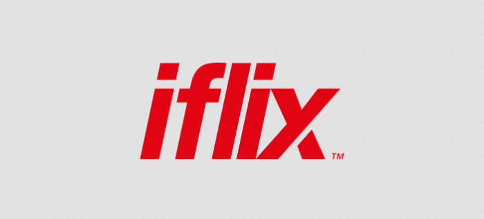 PK iflix The company's logo
