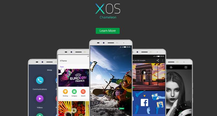 PK Infinix XOS