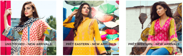 New arrivals deals at Khaadi