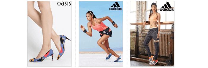 Next brands: Oasis & Adidas