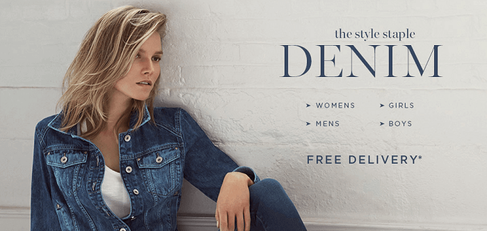 shop for denim items at attractive prices at Next