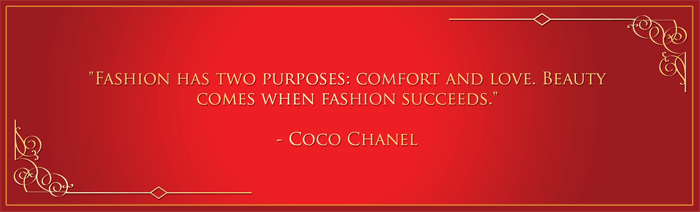 Pakistan Origins Coco Chanel quote