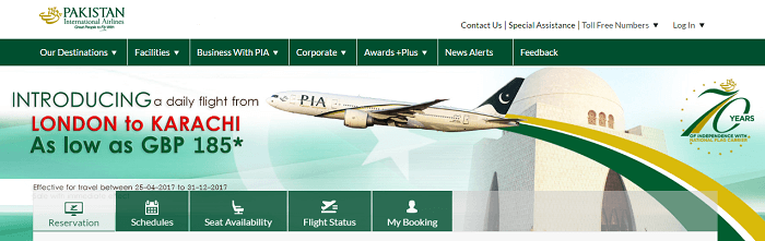 PK PIA daily flight