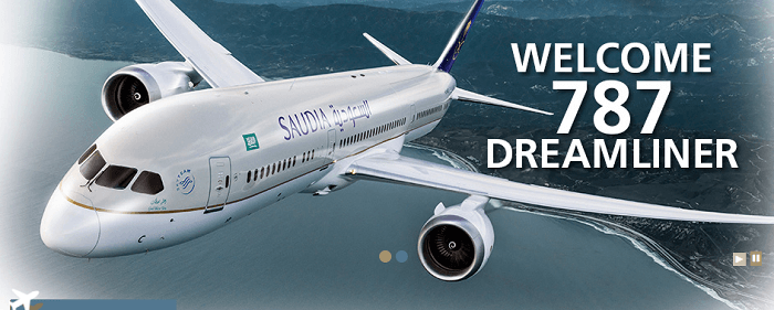 PK Saudia Airlines planes