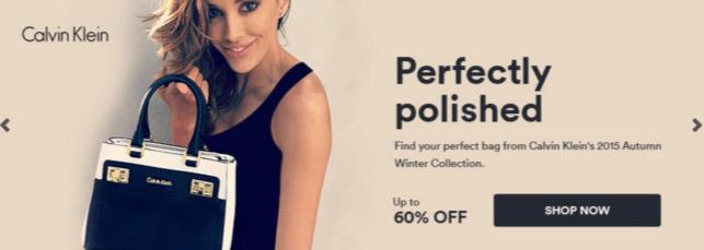 Calvin Klein discount deal at Souq