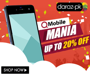 QMobile Mania: Get Up to 20% Off