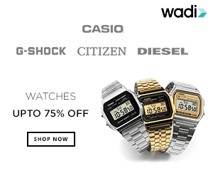 Get Extra 10% off on Watches