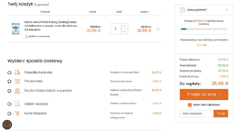 Kody rabatowe w bdsklep.pl