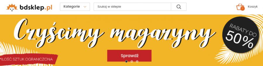 Kody rabatowe do bdsklep.pl