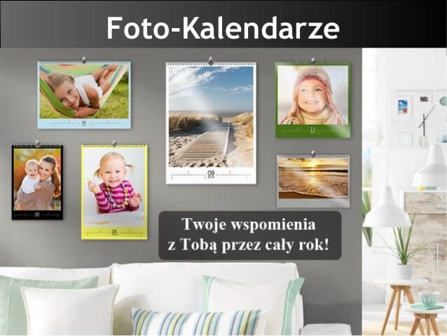 Fotokalendarze na Cewe.pl