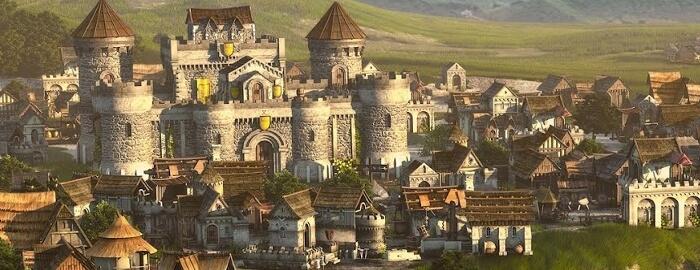 Forge of Empires - miasto w grze
