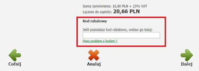 Kody rabatowe do Globkurier.pl