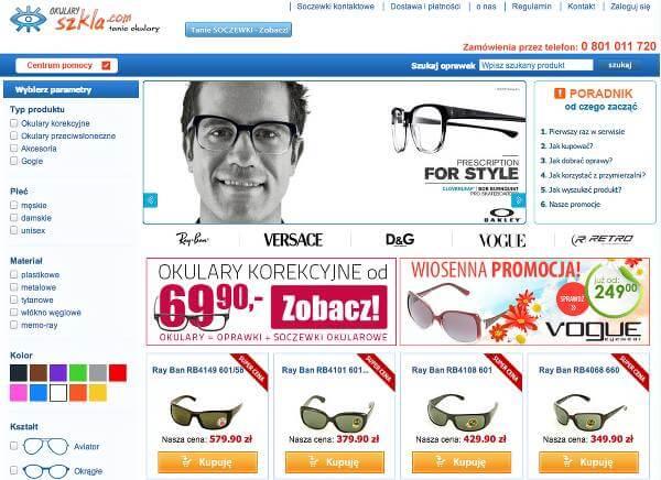 Najlepsze kody rabatowe do sklepu okulary.szkla.com