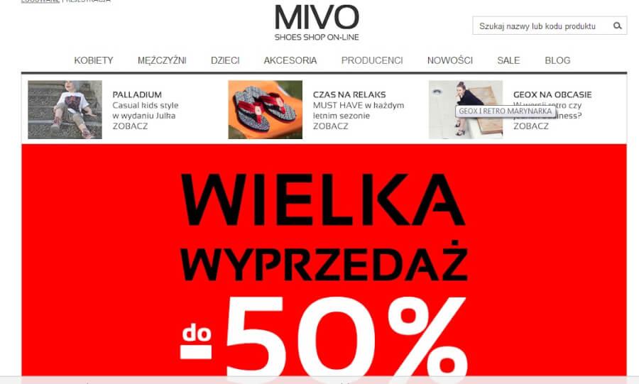 Kody rabatowe dla MIVO