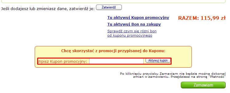 Kody rabatowe dla księgarni Merlin.pl